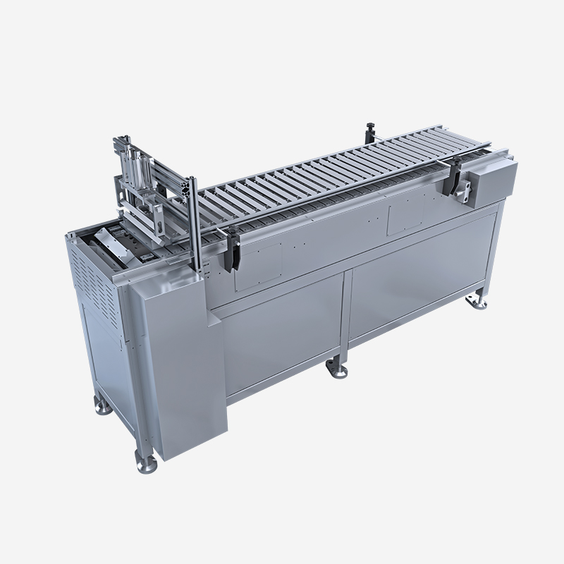 Fixed pitch conveying bin (motor reverse)